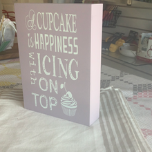 Load image into Gallery viewer, Cupcake sign