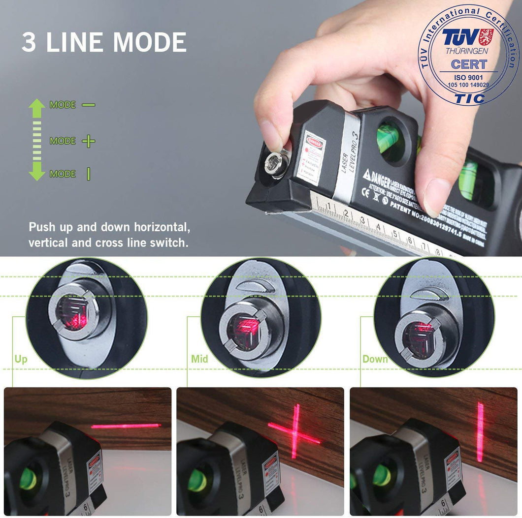 ??Christmas Sale!! DEKE™ 4D Green Beam Laser Level-Buy 2 Free Shipping