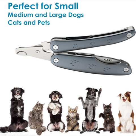 3 in 1 Foldable Pet Nail Clippers