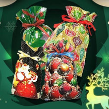 Load image into Gallery viewer, Mintiml One-Tug Bags Christmas Drawstring Gift Bag Set