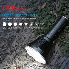 Load image into Gallery viewer, 30000-100000 Lumen Big Flashlight High Power LED XHP70 Waterproof Flash Light