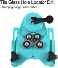 Load image into Gallery viewer, Adjustable Ceramic Tile Glass Hole Saw Cutter Guide Openings Locator
