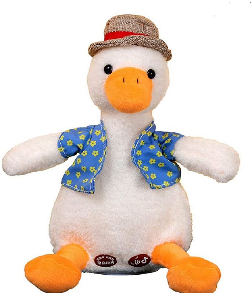 Repeat duck(Repeat duck kids learn to speak educational toy electric plush doll)