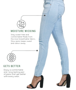 Slim Fitted Denim Jeans