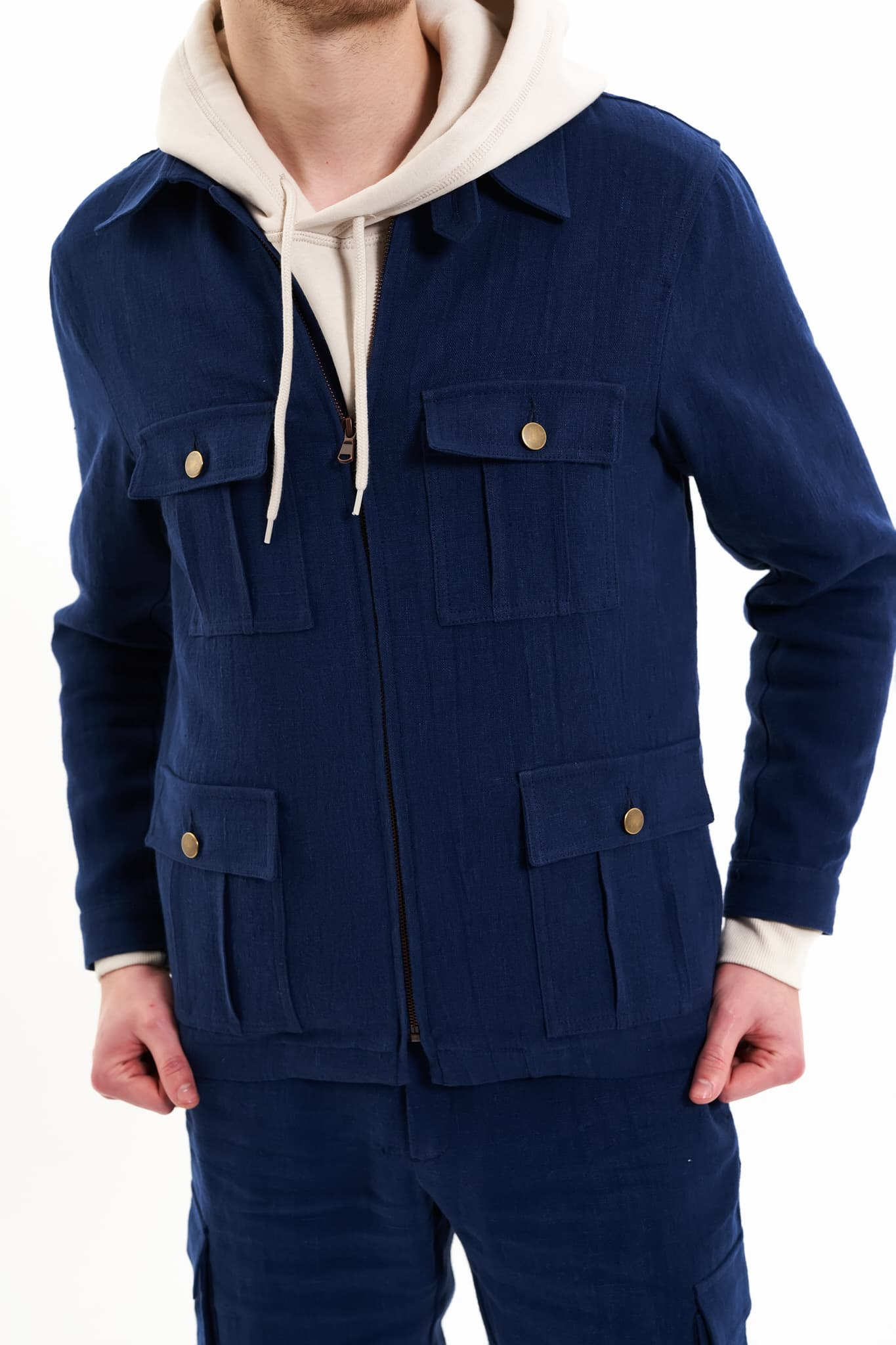 Navy Wallachian Jacket