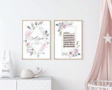 Load image into Gallery viewer, Soft Floral Baby Girl Set