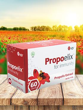 Propoelix 200mg (60 Vegekaps) - BeWell Indonesia