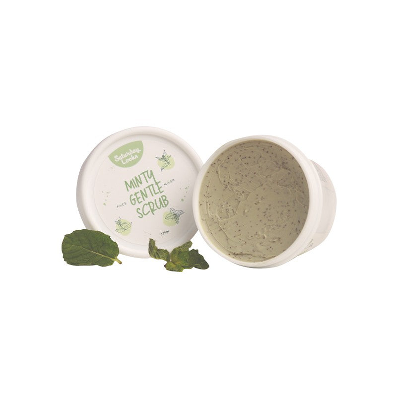 Saturday Looks Minty Gentle Scrub Face Mask 125g