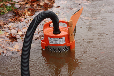 Site Drainer Pump in Action