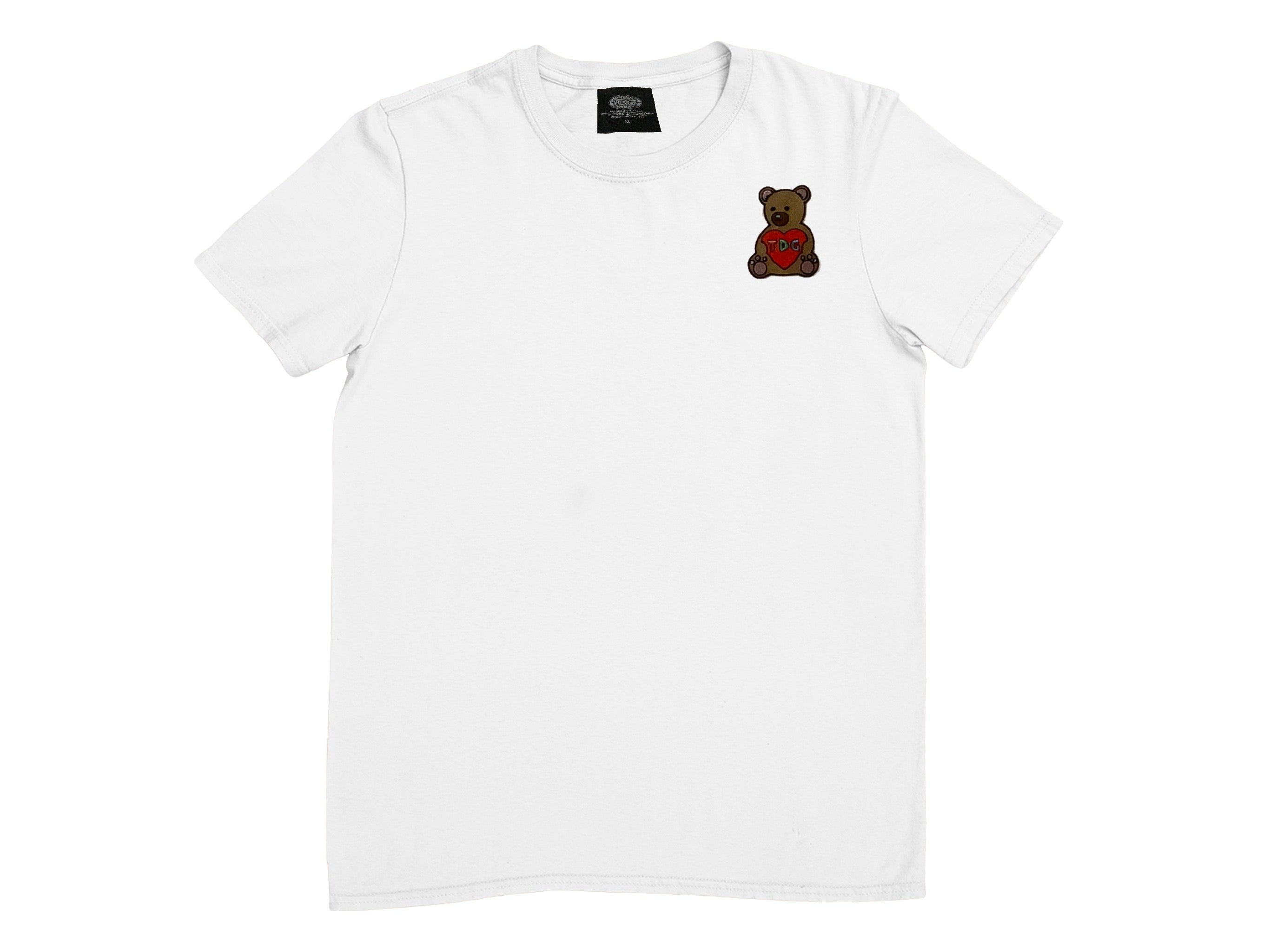 White Teddy T-shirt - thedefaultgoods
