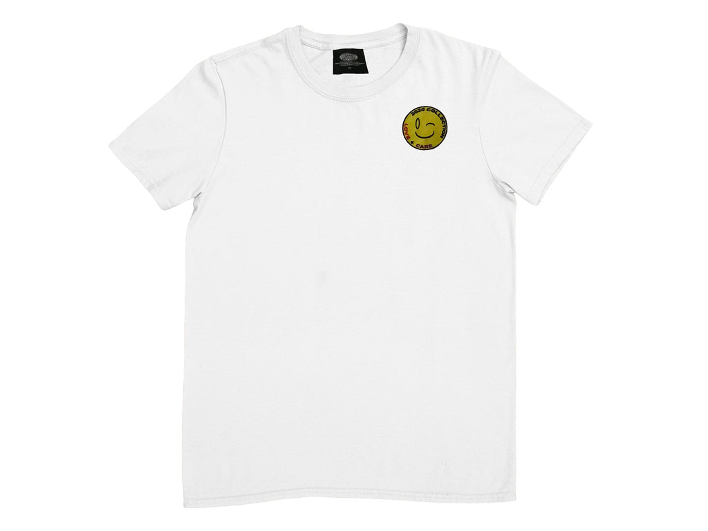 White Wink T-shirt - thedefaultgoods
