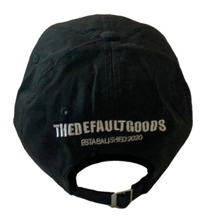 TDG Black Dad Hat - thedefaultgoods
