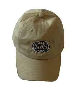 TDG khaki Dad Hat - thedefaultgoods