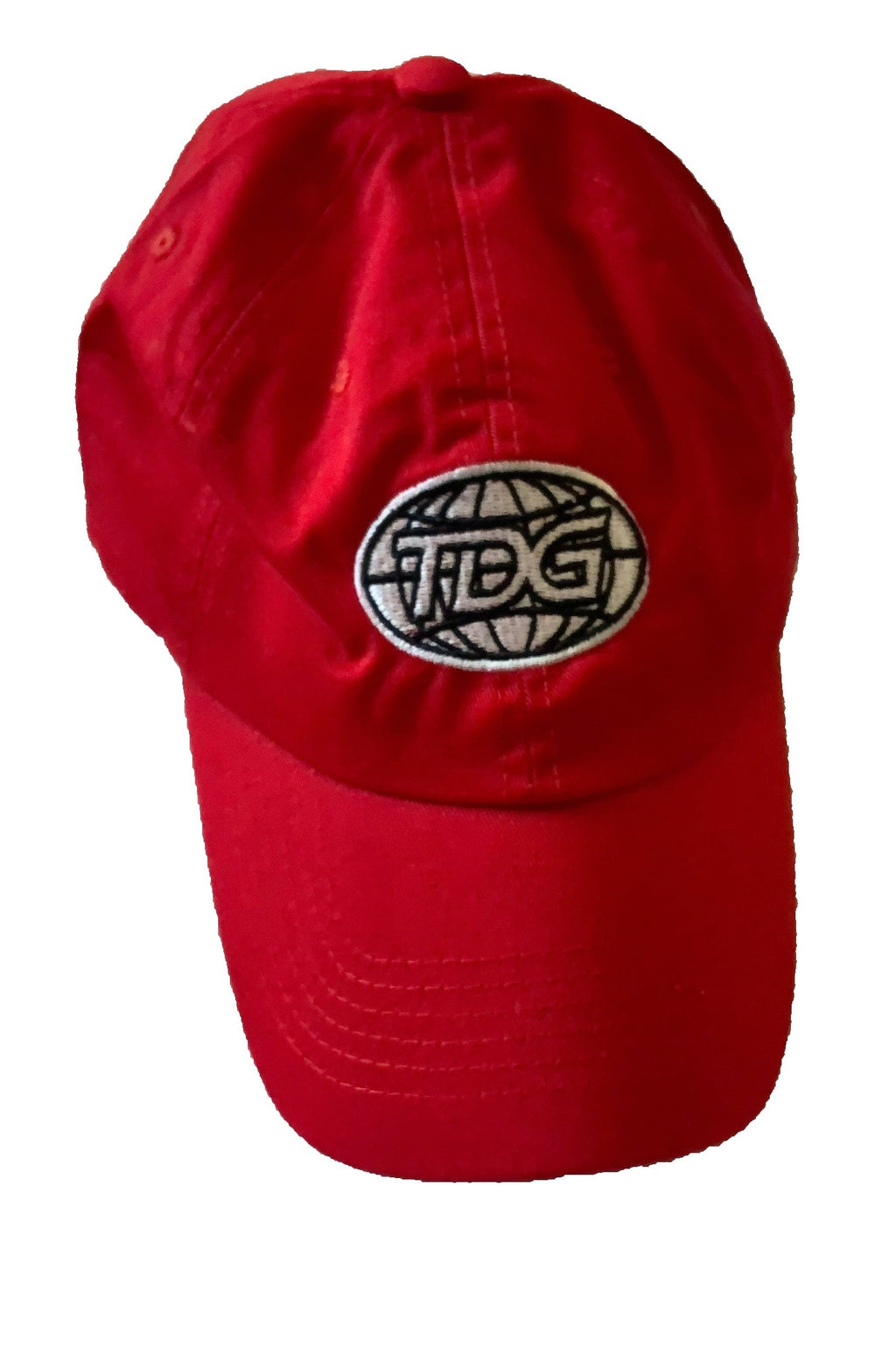TDG Red Dad Hat - thedefaultgoods