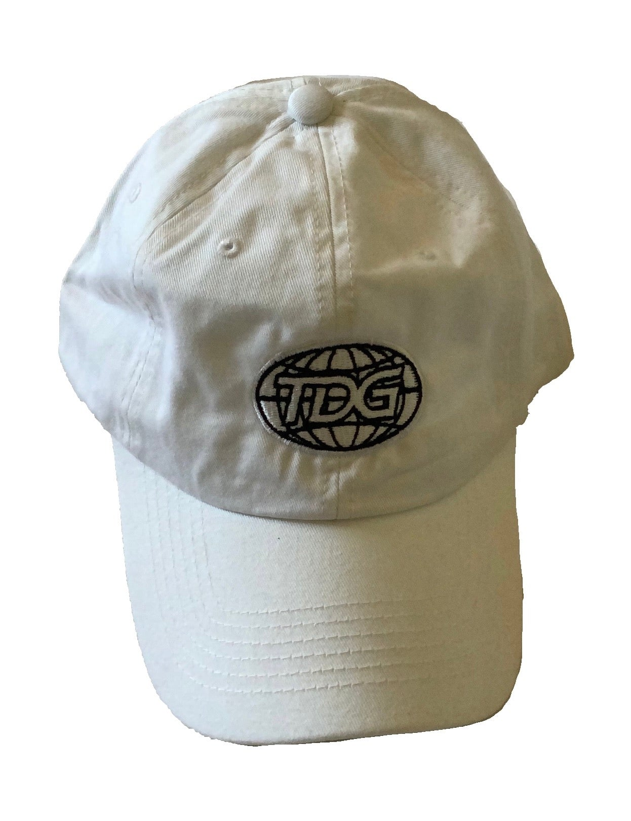 TDG White Dad Hat - thedefaultgoods