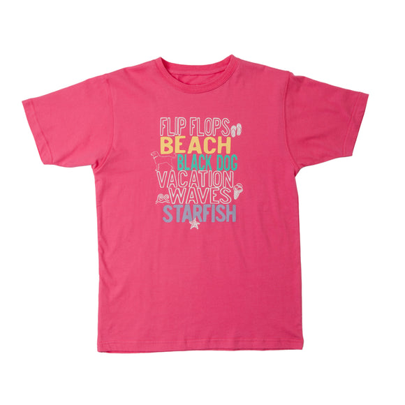 KIDS VACATION SS TEE