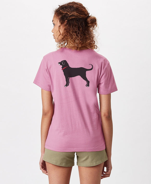 LADIES ROCKPORT HOMEPORT SS TEE