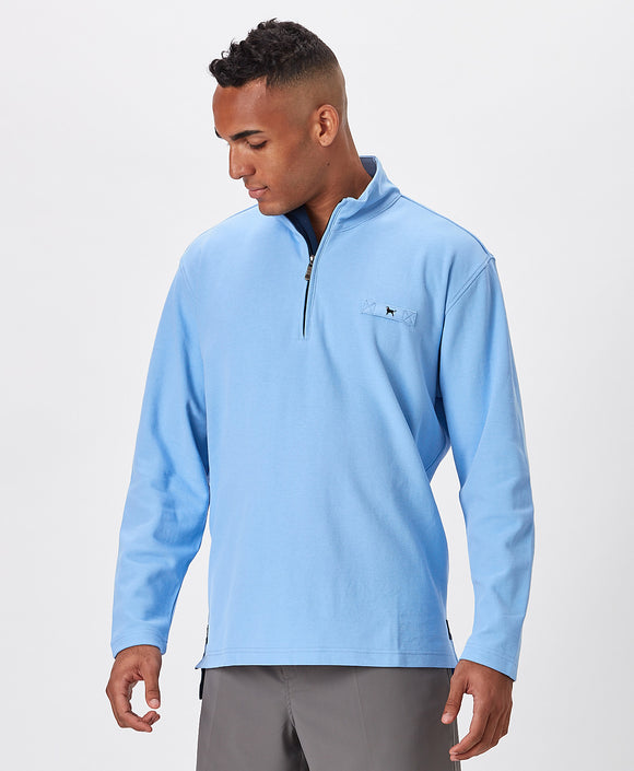 MENS KNEE DEEP PIQUE QTR ZIP