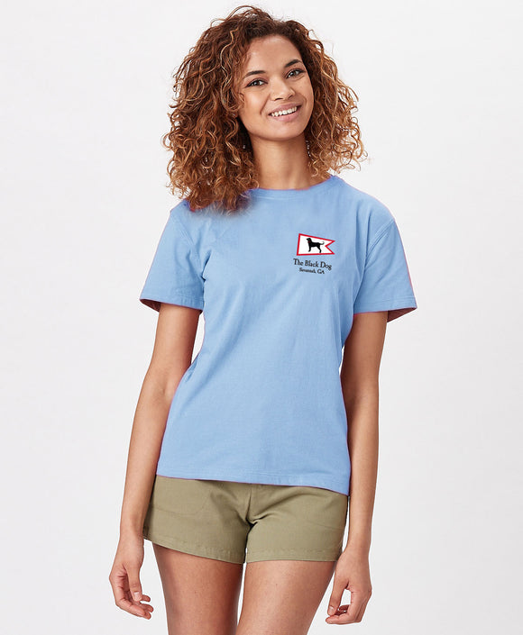 LADIES SAVANNAH HOMEPORT SS TEE