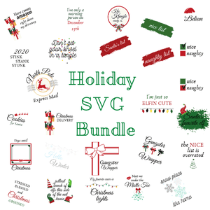 Christmas Holiday SVGs
