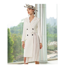 Load image into Gallery viewer, Meliora White Imperial Blazer Dress