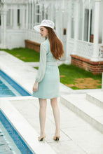 Load image into Gallery viewer, Meliora Mint Green Solicitor Blazer Dress