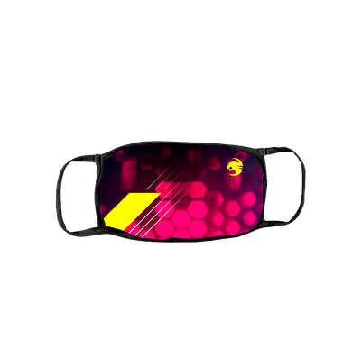 ROCCAT Mask Purple Honeycomb