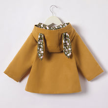 Load image into Gallery viewer, Toddler Ear Hooded Coat