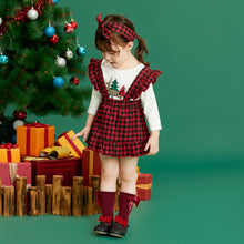 Load image into Gallery viewer, Plaid Christmas Dress