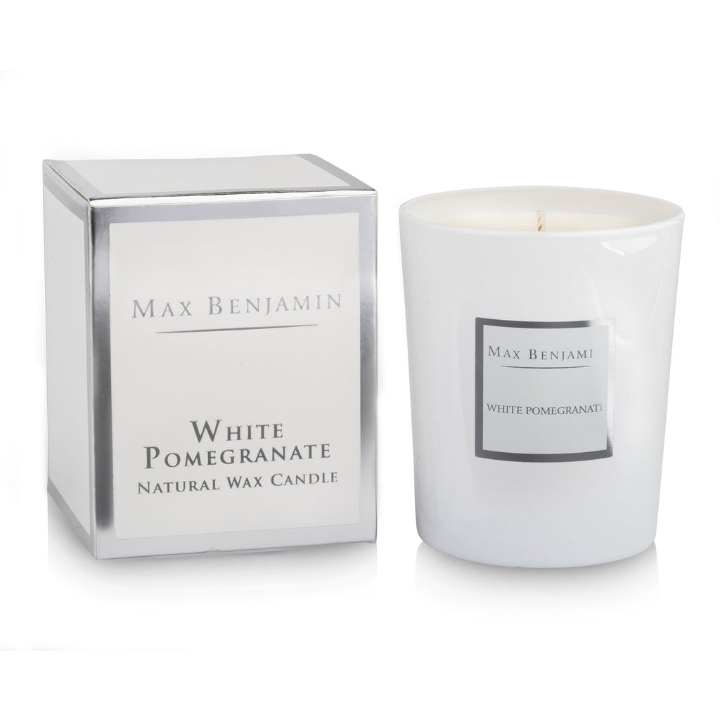 Max Benjamin - White Pomegranate Candle