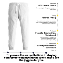 Load image into Gallery viewer, ET U Comfies | Slim Fit Joggers for Men | Gray