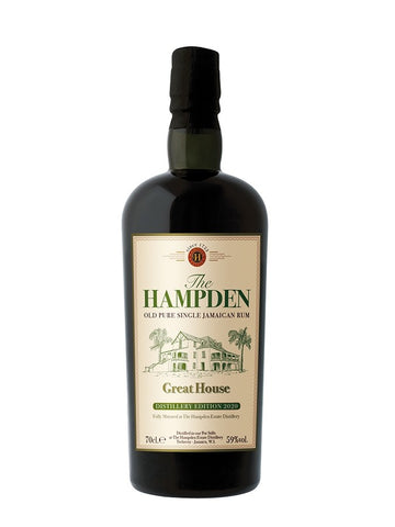 RHUM VIEUX HAMPDEN - GREAT HOUSE DISTILLERY EDITION SPECIALE 2020 59°