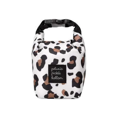 Snack Pouch in Leopard-Essentials-Petunia Pickle Bottom