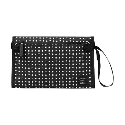 Nimble Diaper Clutch + Changer in Neo Geo-Essentials-Petunia Pickle Bottom