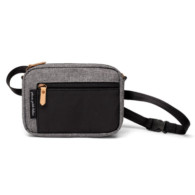 Adventurer Belt Bag in Graphite/Black-Essentials-Petunia Pickle Bottom