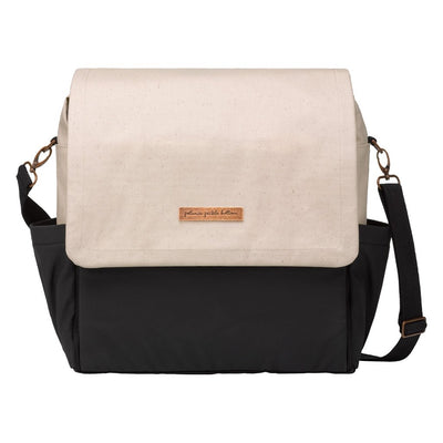 Boxy Backpack in Birch/Black Colorblock-Diaper Bags-Petunia Pickle Bottom