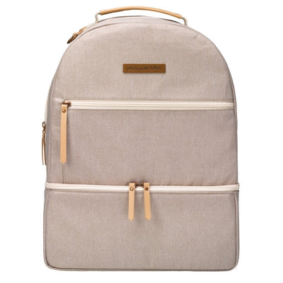 Axis Backpack in Sand-Inter-Mix-Petunia Pickle Bottom