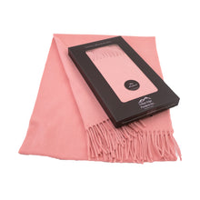 Load image into Gallery viewer, Pure Lambswool scarf, Pink