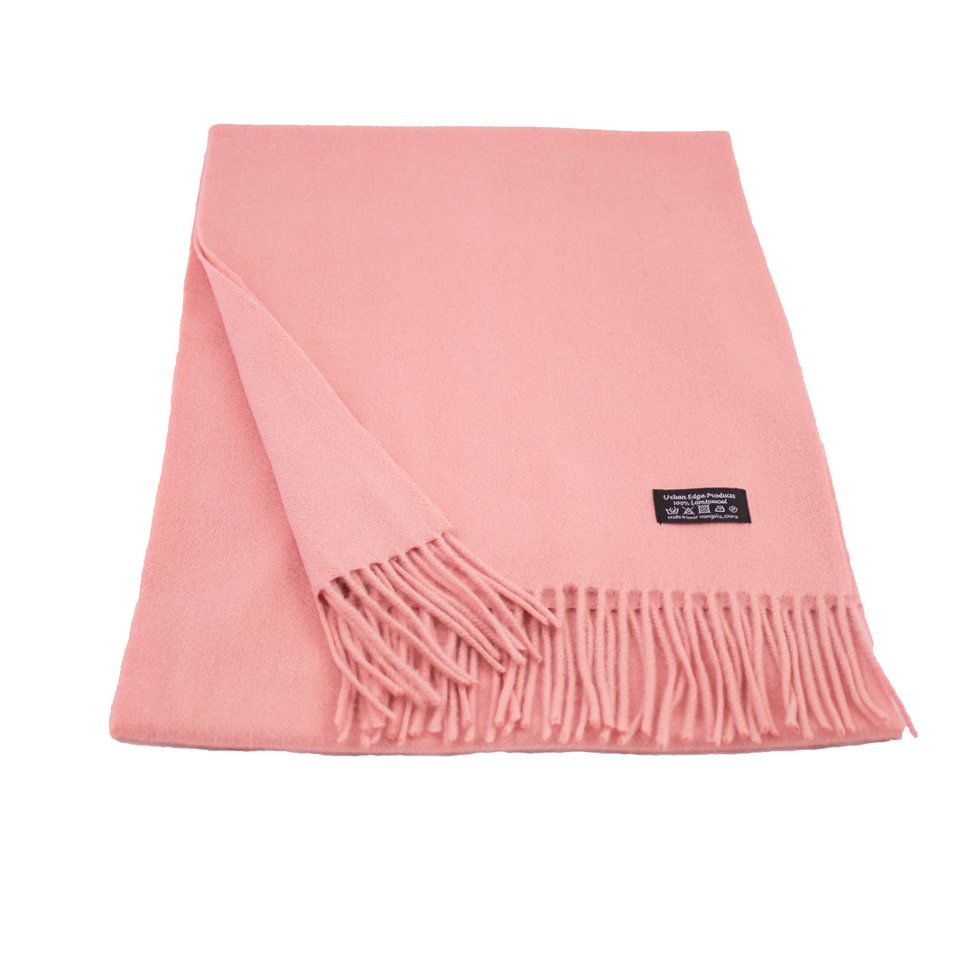 Pure Lambswool scarf, Pink