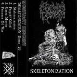 Mortuary Descent - Skeletonization Cassette 2nd Press PREORDER