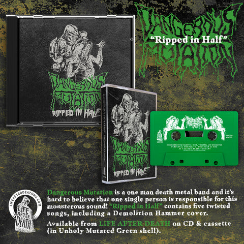 Dangerous Mutation - Ripped in Half CD PREORDER
