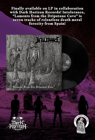 Intolerance - Laments from the Dripstone Cave LP PREORDER