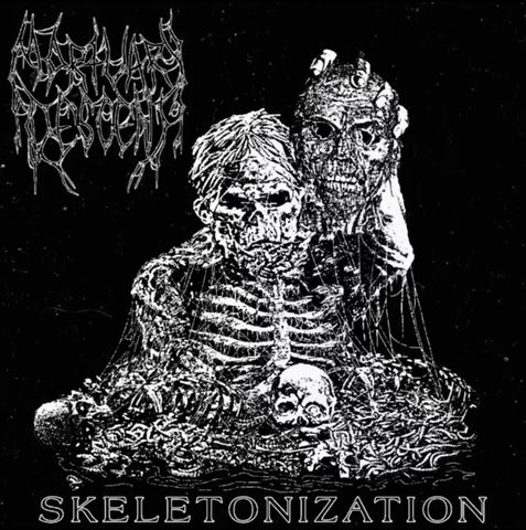 Mortuary Descent - Skeletonization CD 2nd Edition PREORDER