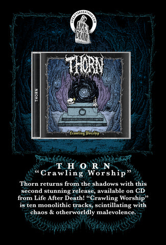 Thorn - Crawling Worship CD PREORDER
