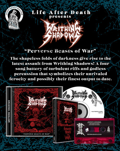 Writhing Shadows - Perverse Beasts of War CD
