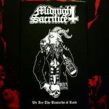 Midnight Sacrifice - We the Bastards of Rock Cassette