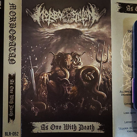 Morbosatan - As One With Death Cassette