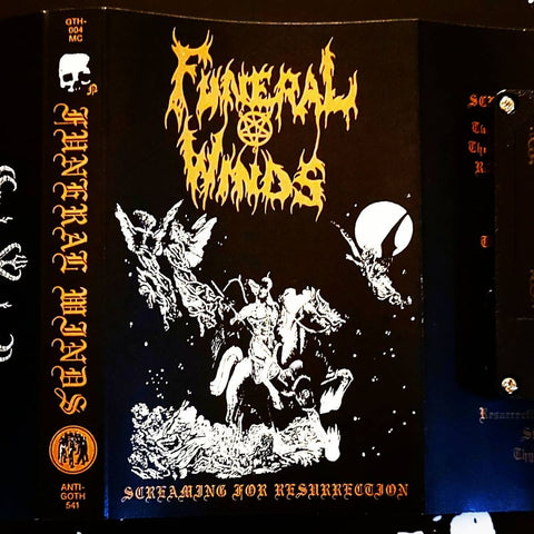 Funeral Winds - Screaming for Resurrection Cassette