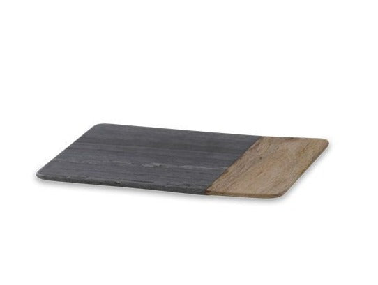 Bwari Long Marble Board Grey Marble & Mango W