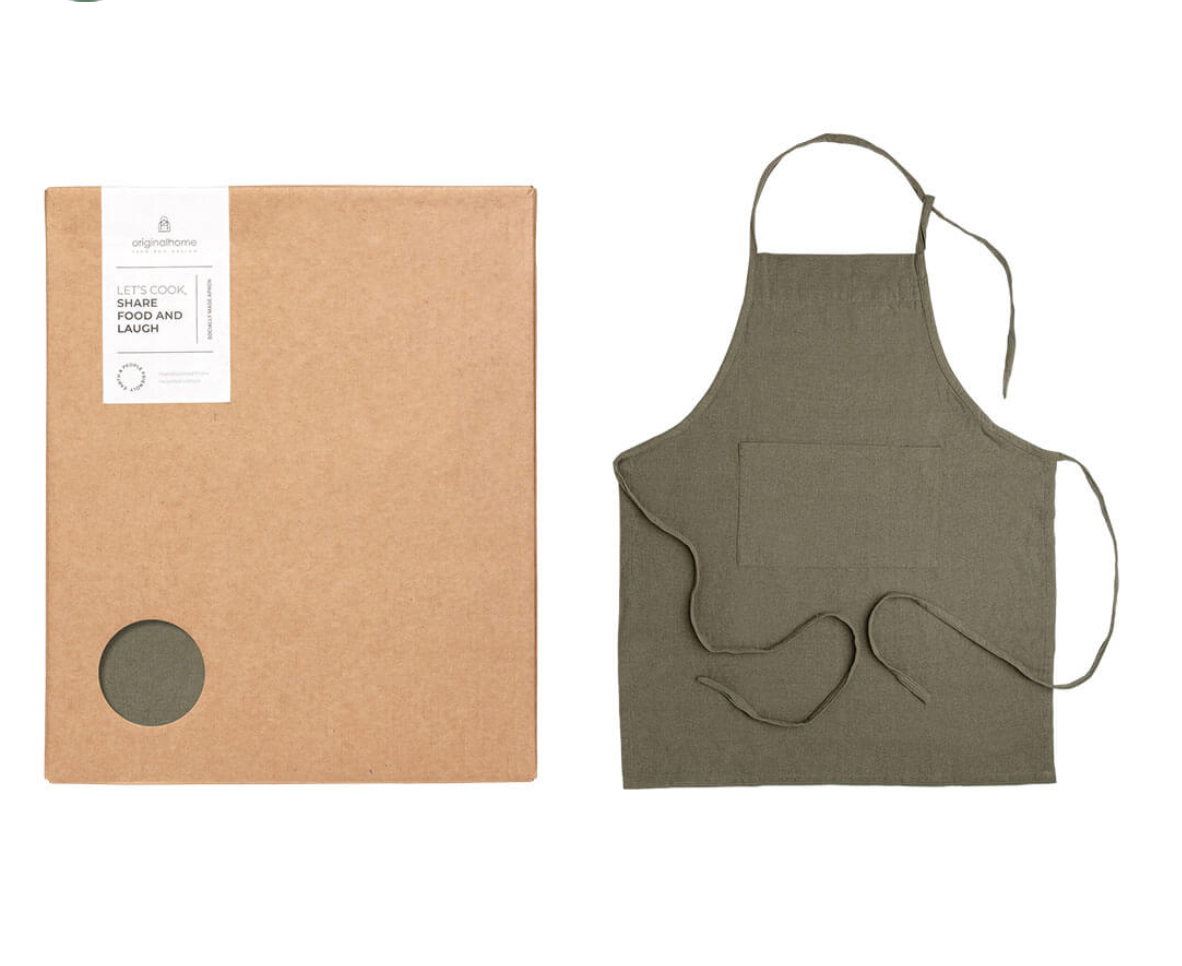 Apron Recycled Box – Green